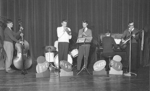 The High School Six schoolband 1960